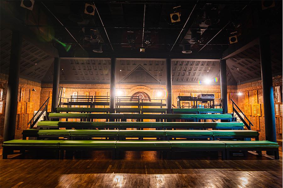 theatre seating area