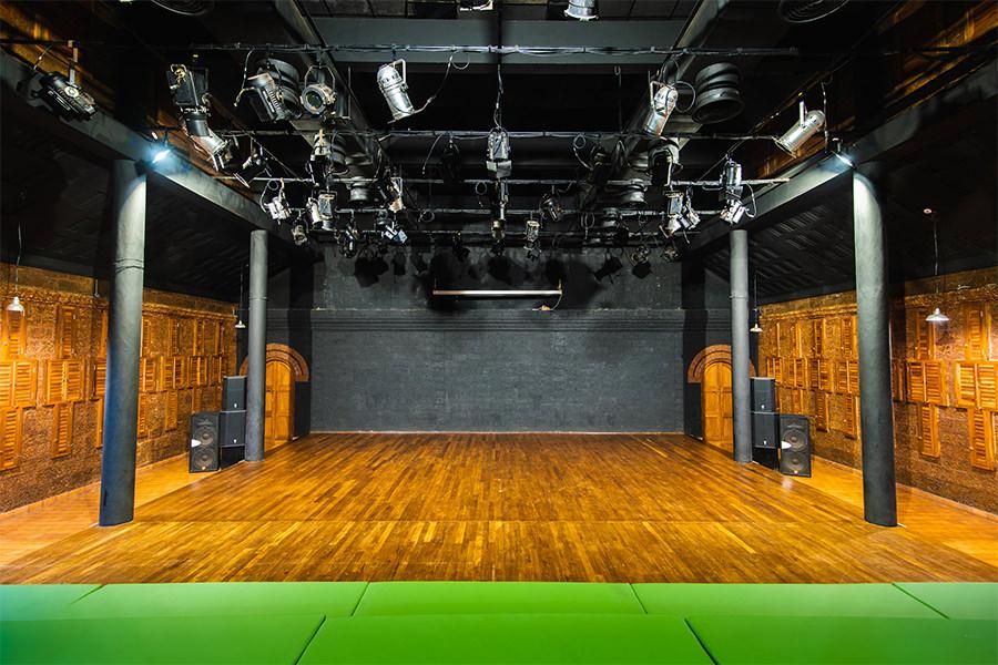 theatre stage area